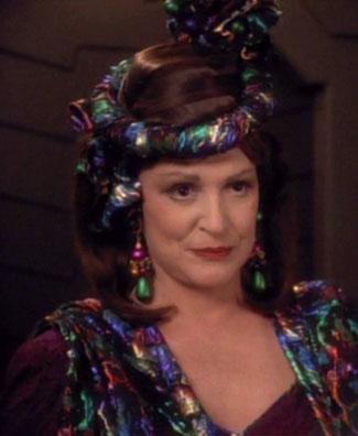 Ambassador Lwaxana Troi in 2371