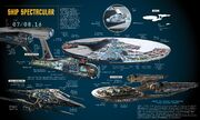 Popular Mechanics - Star Trek Beyond ship cutaways