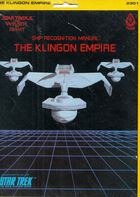Ship Recognition Manual-The Klingon Empire (First Edition) sleeve