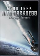 Star trek vers les ténèbres, DVD 2013