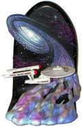 Willitts Designs USS Enterprise bookend