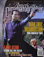 American Cinematographer cover January 1999