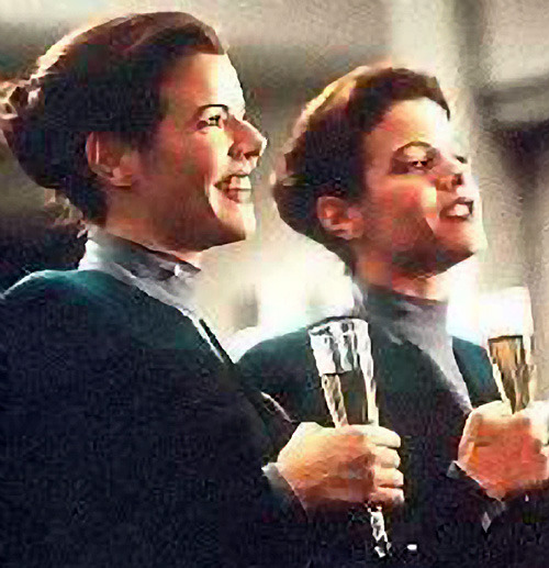 Image result for star trek voyager the delany sisters