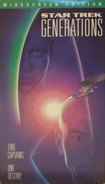 Generations US widescreen VHS cover