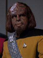 Hologramm von Worf 2369 Picard Delta Eins