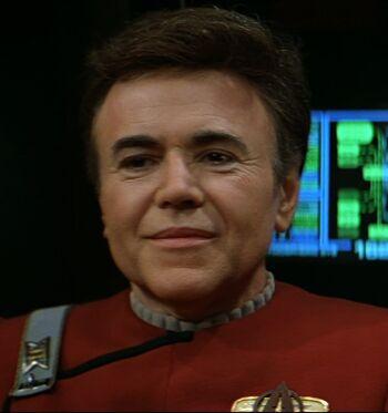 """Commander Chekov in <a href=""""/wiki/2293"""" title=""""2293"""">2293</a>"""