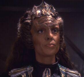 丝蕊拉,一名2374年的克林贡女性