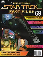 Star Trek Fact Files Part 69 cover