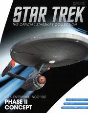 Star Trek Official Starships Collection Phase II USS Enterprise cover