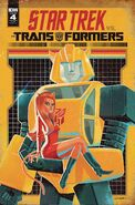 Star Trek vs. Transformers issue 4 cover RI