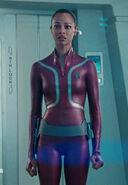 Starfleet uniform wetsuit, female