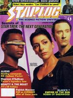 Starlog issue 126 cover