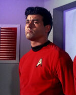 USS Enterprise security guard 1