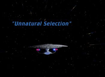 Unnatural Selection title card