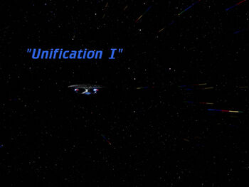 Unification I title card
