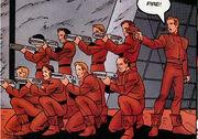 Bajoran firing squad - turn of the tide