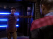 Curzon besucht Sisko