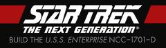 Star Trek TNG Build The USS Enterprise-D logo