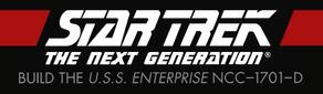 Star Trek TNG Build The USS Enterprise-D logo.png