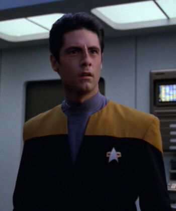 ...as Ensign Tabor