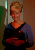 USS Enterprise sciences crew woman 7