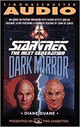 Dark Mirror audiobook cover, US cassette edition