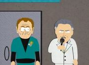 Dr. Adams and Ricardo Montalban on South Park
