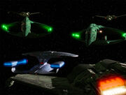 Federation-Romulan-Klingon stand-off