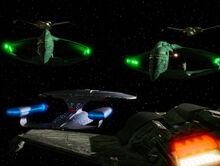 Federation-Romulan-Klingon stand-off