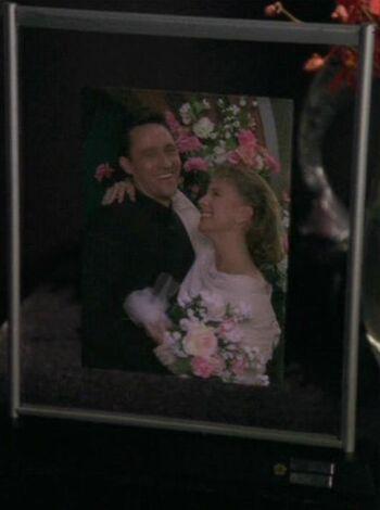 Greta Vanderweg and her husband