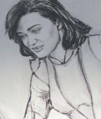 A drawing of Jana
