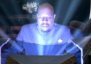 Orb experience Sisko