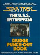 Star Trek The Motion Picture The USS Enterprise Bridge Punch-Out Book