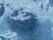 Voyager unter Eis
