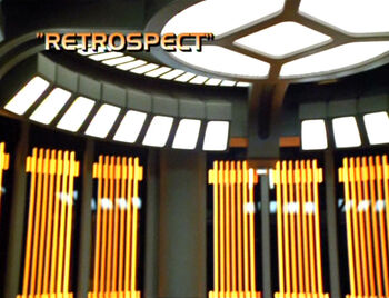 Retrospect title card