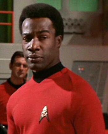 ...as Lieutenant Evans