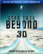 Star Trek Beyond Blu-ray 3D Region A cover