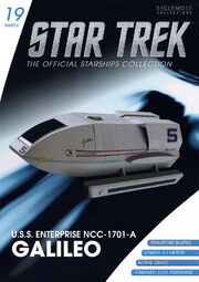 Star Trek Official Starships Collection Shuttle issue 19