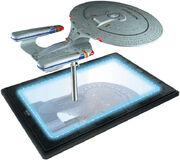 Star Trek TNG Build The USS Enterprise-D premium base