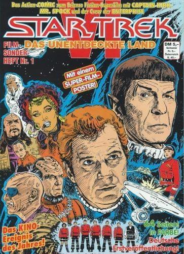 Star Trek VI Das unentdeckte Land (Comic)