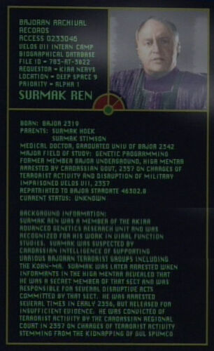 Surmak Ren's profile from the computer
