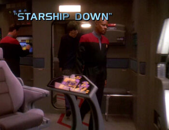 Starship Down title card