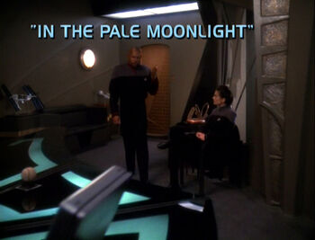In the Pale Moonlight title card