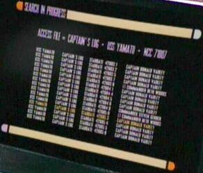 Captains log, USS Yamato
