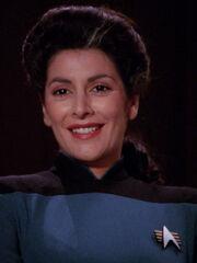 Hologramm von Deanna Troi 2367