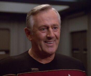 Len Cariou as Vice Admiral Janeway
