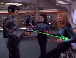 Romulan Troi Crusher Timescape