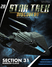 Star Trek Discovery Official Starships Collection issue 28