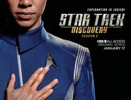 Star Trek Discovery Season 2 Michael Burnham banner 2