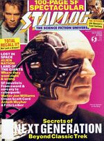 Starlog issue 159 cover